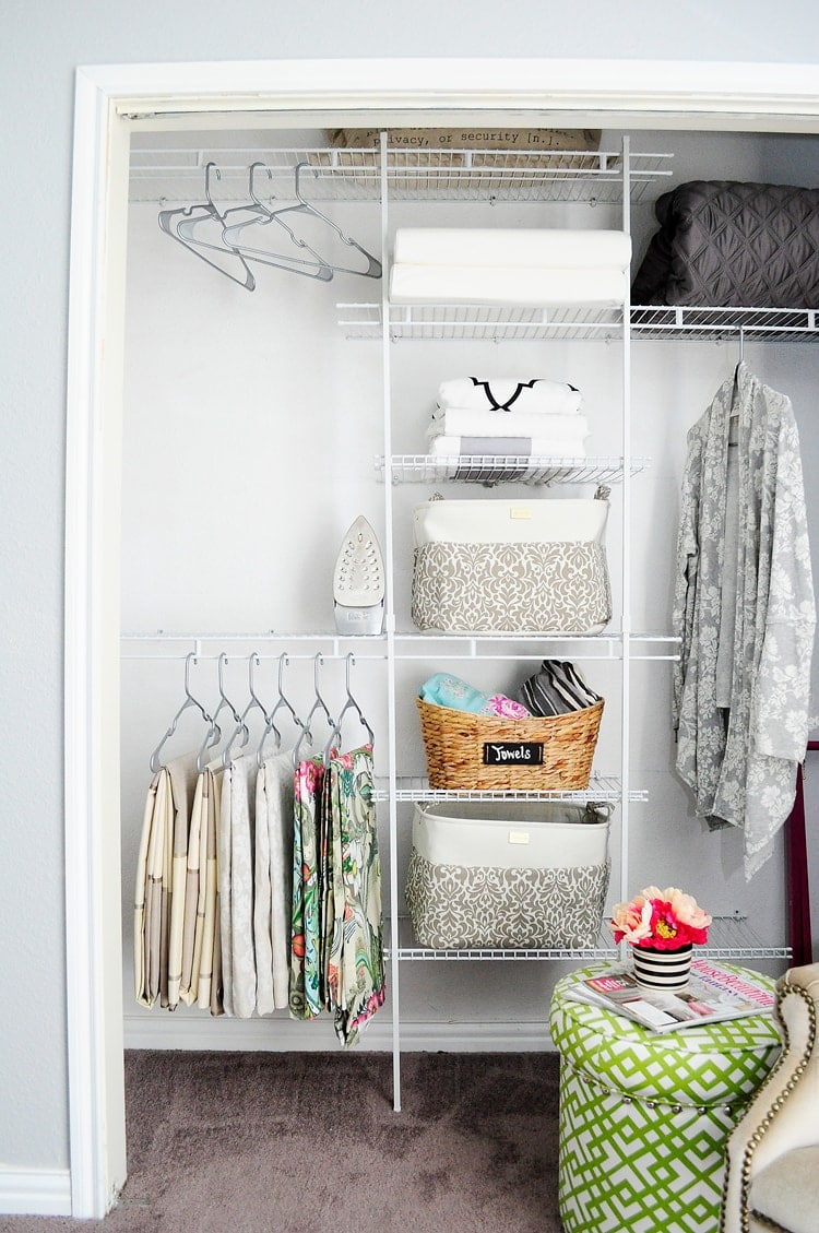 Bedroom closet system installation affordable