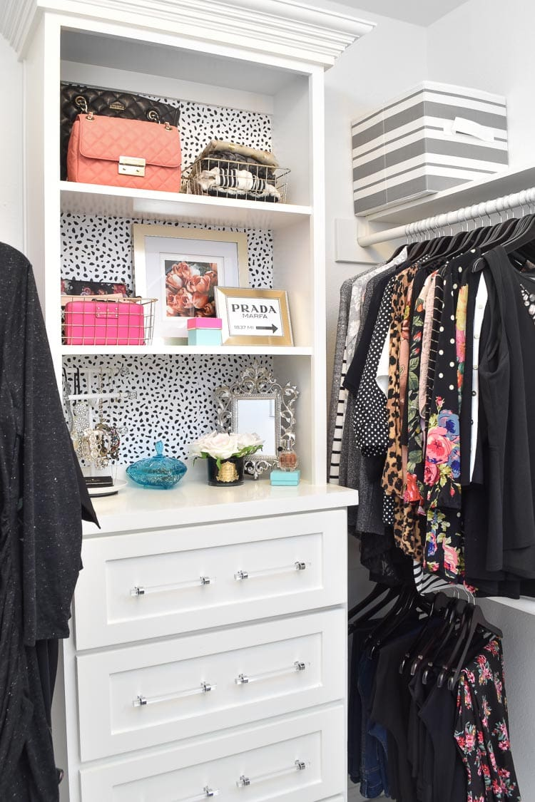 Master bedroom closet ideas for built-ins and layout