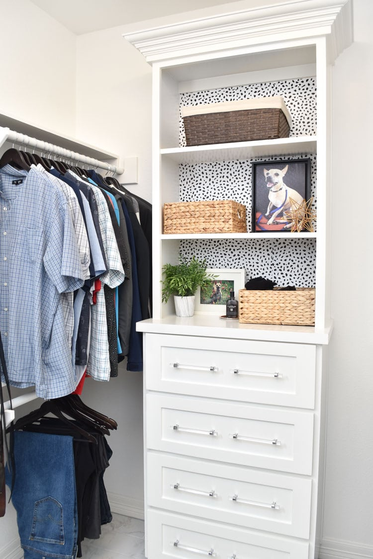 Master Bedroom Closet Built Ins White
