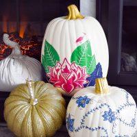 DIY Tobacco Leaf China Pumpkin
