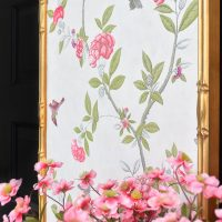 DIY Framed Chinoiserie Wall Panels