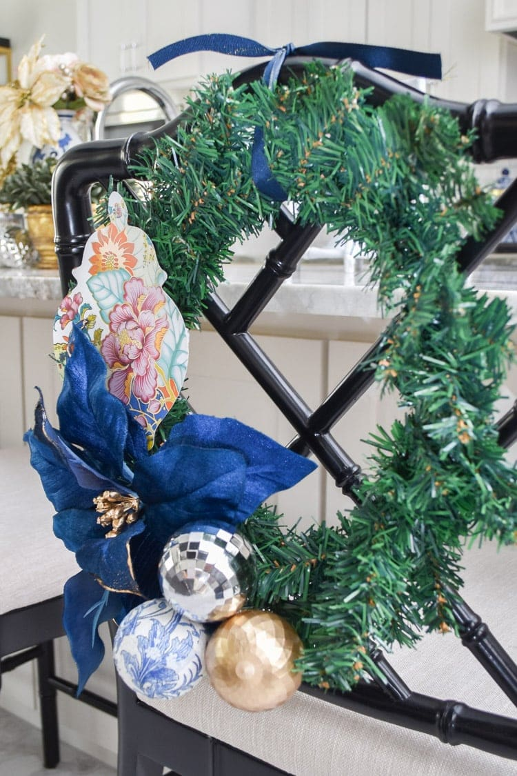 Chinoiserie wreath