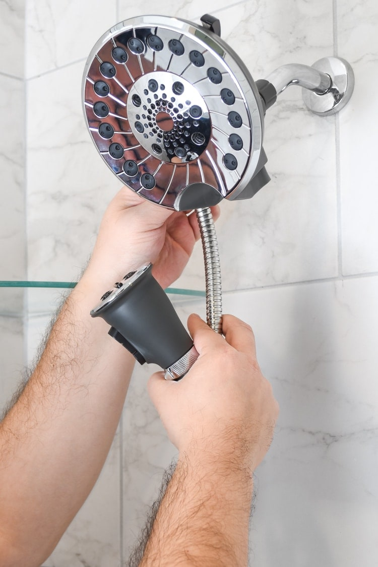 Peerless SideKick Shower Head and Wand