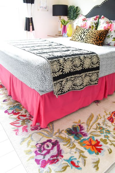 Colorful floral rug from Home Dynamix