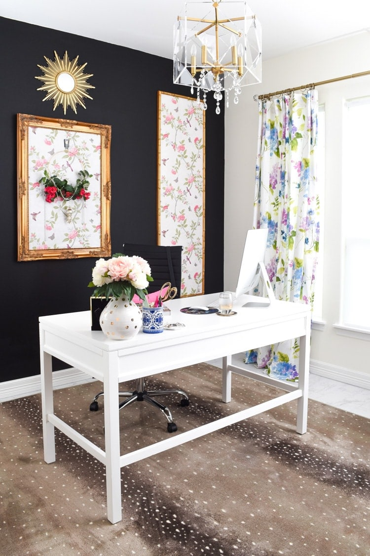 Home office decor on a budget