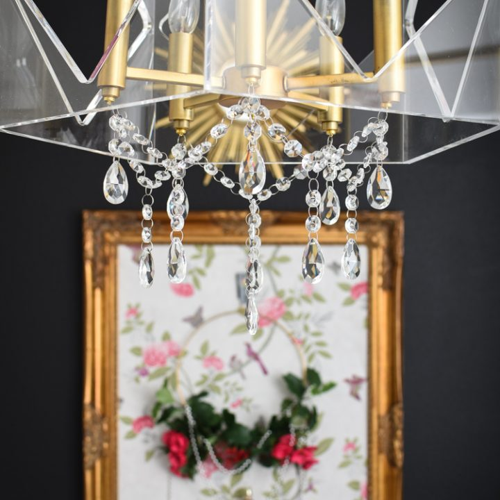 How to Add Crystals to a Chandelier