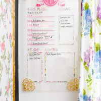DIY Acrylic Memo Board Tutorial