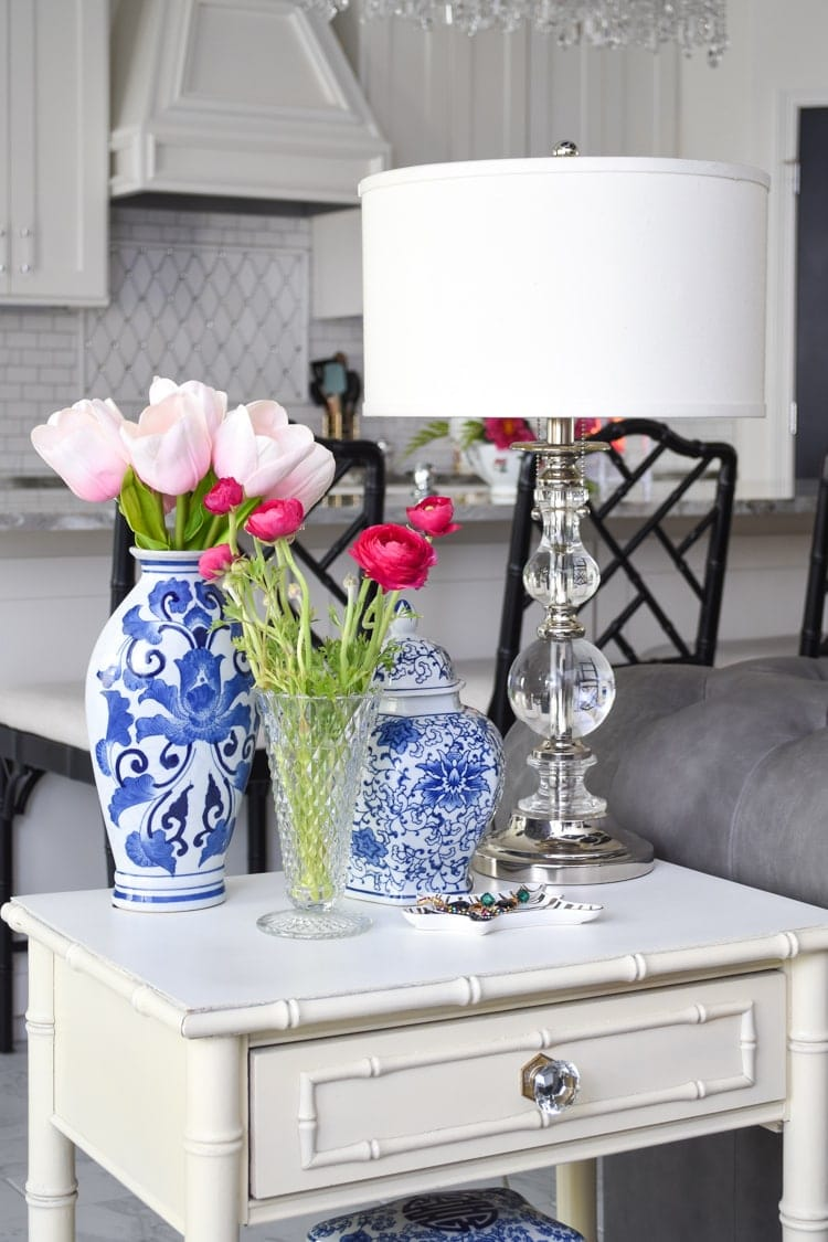 Spring Decor: End table styling ideas