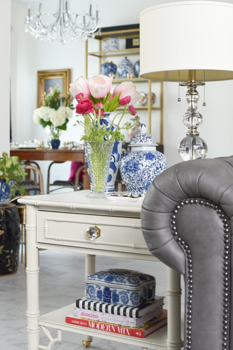 Spring decor: chinoiserie chic style