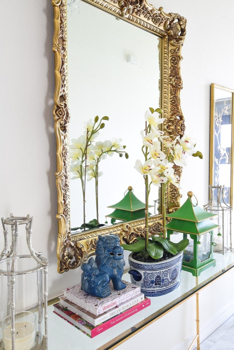 Chinoiserie decor foyer ideas