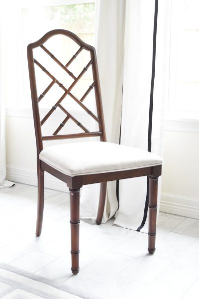 Chippendale chairs DIY project