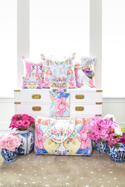 Chinoiserie home decor by Monica Benavidez Home
