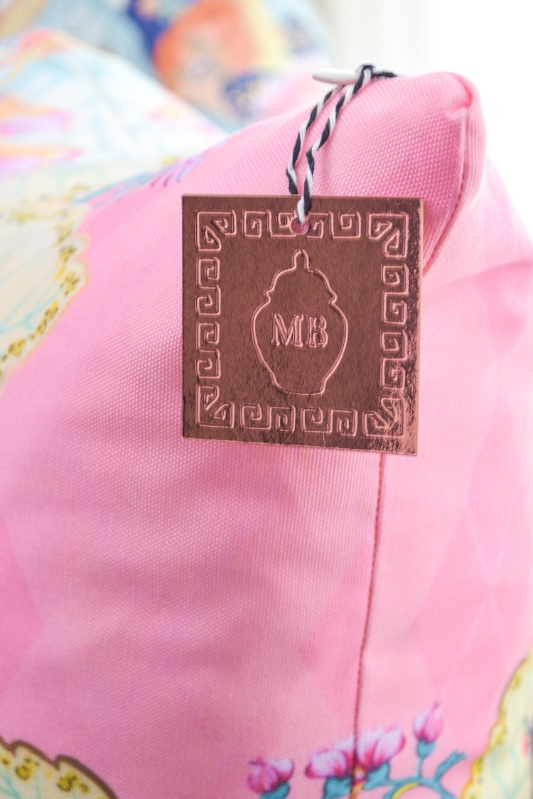 DIY debossed monogram tags using Cricut maker debossing tool