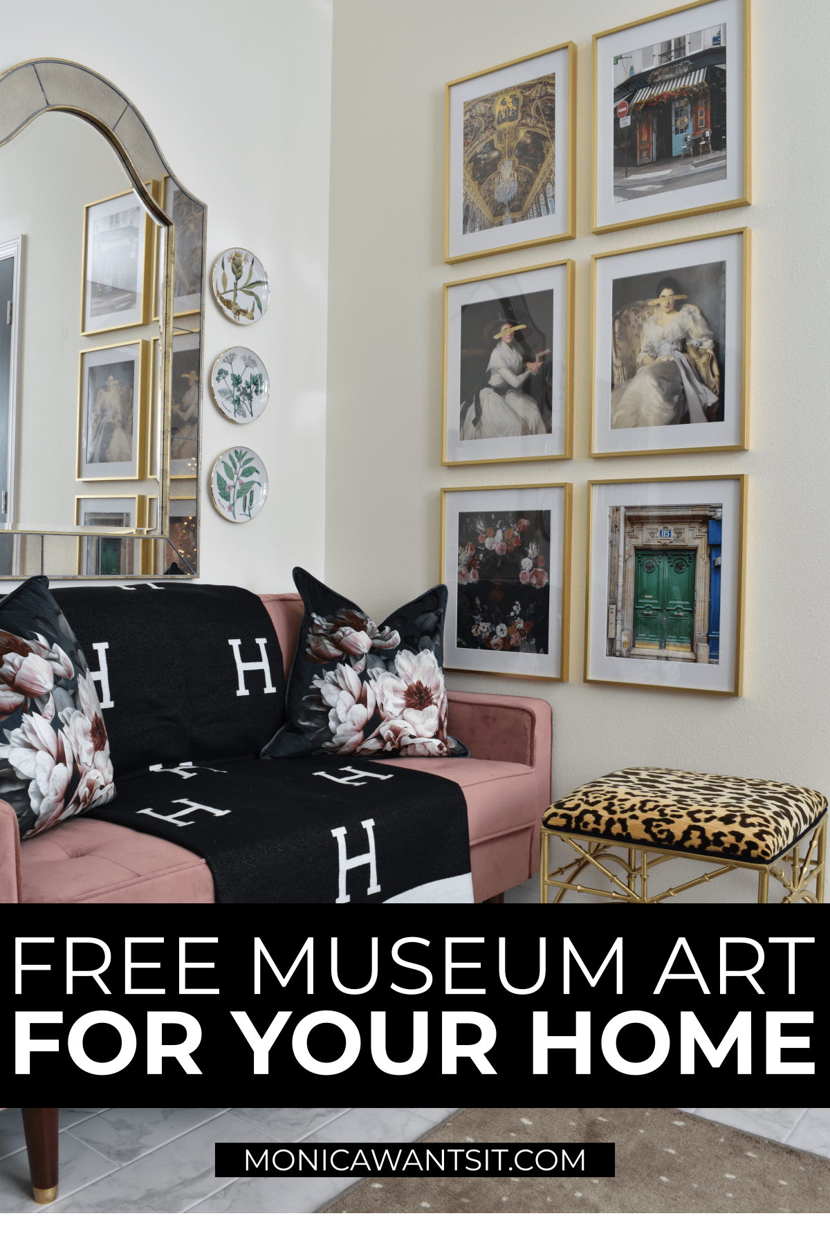 Free Museum Art for your home decor gallery walls