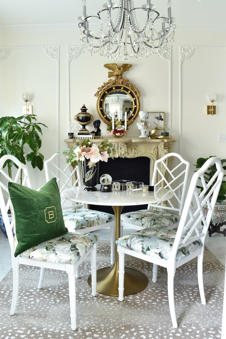 French dining room: parisian inspired makeover on a budget