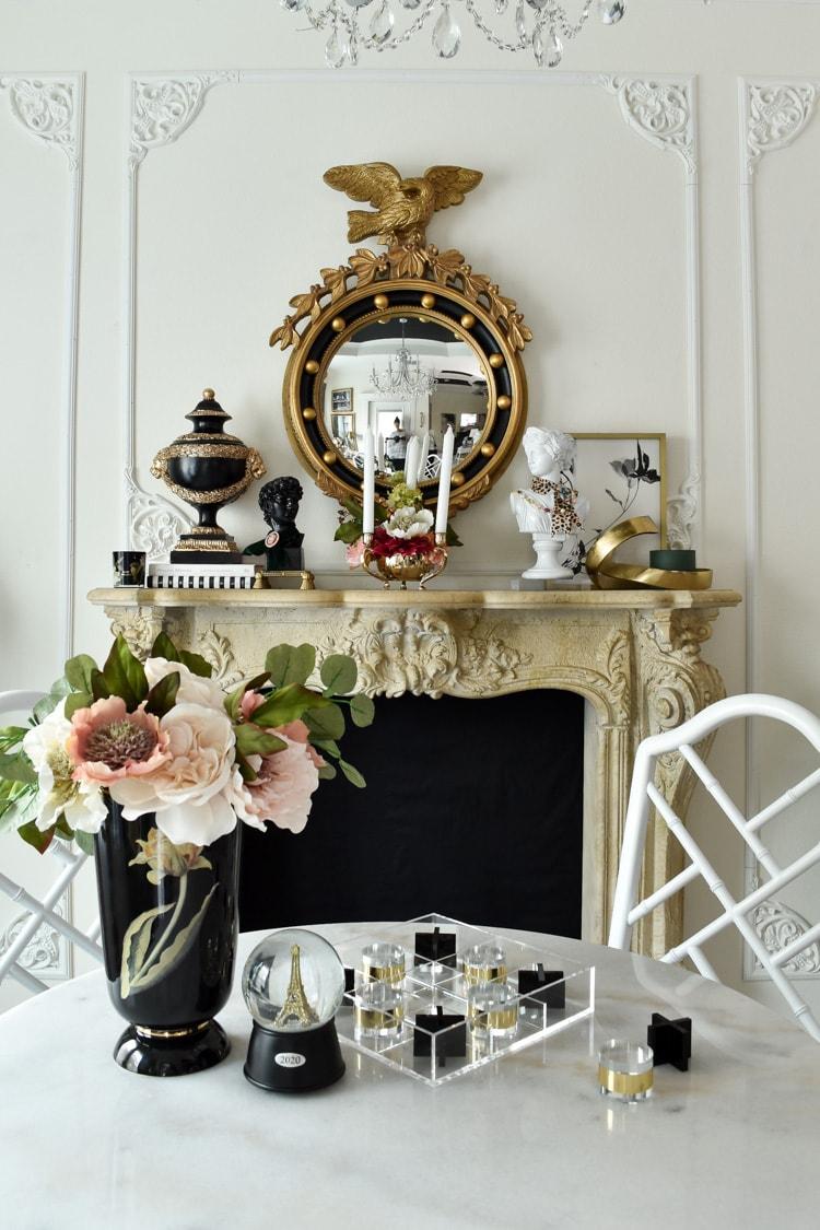 DIY Parisian inspired dining room makeover