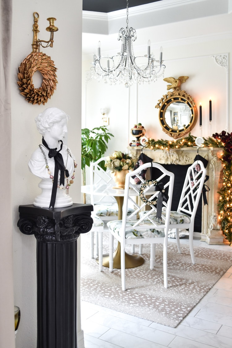 Small Dining Room Holiday Decor Ideas Monica Wants It